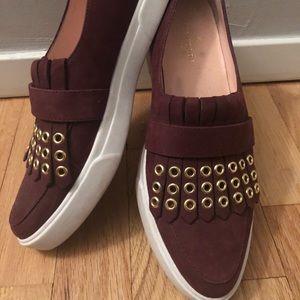 Kate Spade slip on sneakers